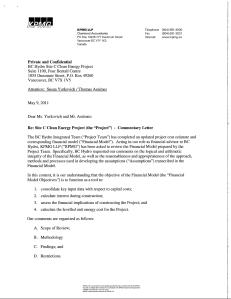 KPMG Commentary Letter